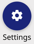 dashboard settings button